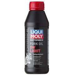 Huile de fourche LIQUI MOLY Motorbike FORK OIL 5w 100% Synth 0.5L - PROMO -50%