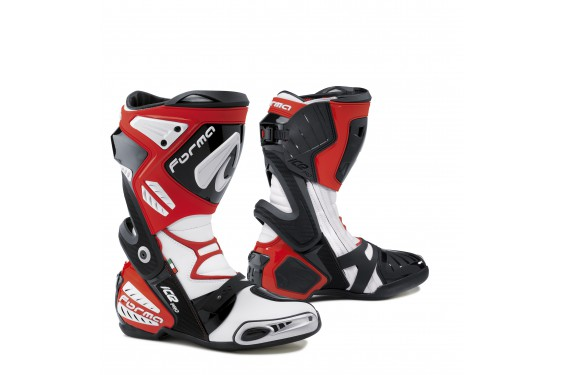 bottes moto racing forma ice pro rouge street moto piece. Black Bedroom Furniture Sets. Home Design Ideas