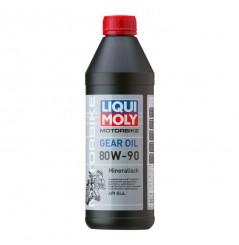 Huile de Boite LIQUI MOLY Motorbike GEAR OIL HD 80 W-90 Minérale 1L - PROMO -50%