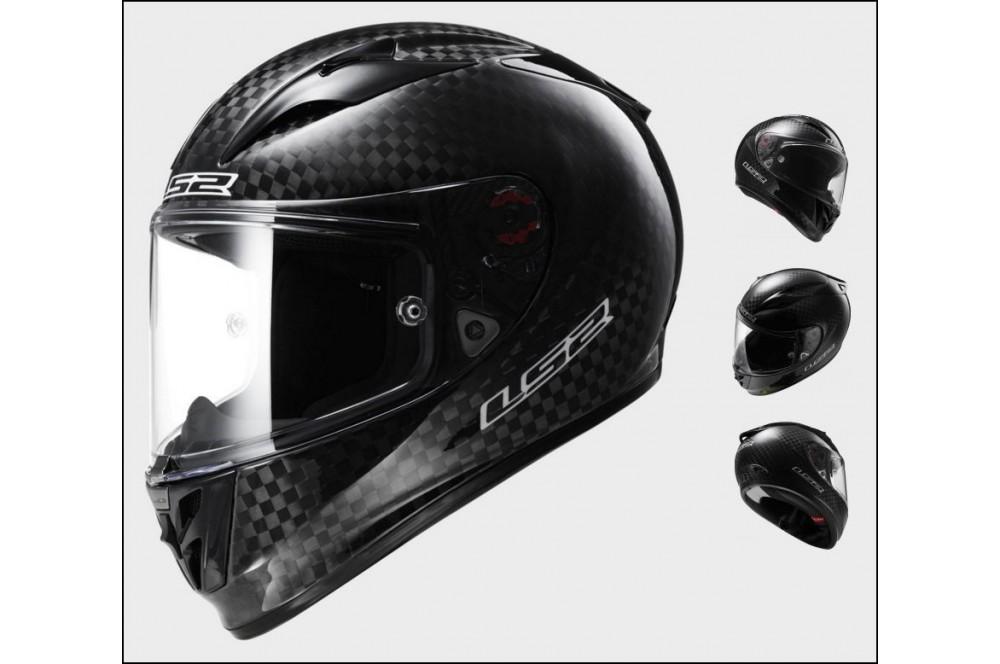 casque moto ls2 ff323 arrow c solid carbone street moto. Black Bedroom Furniture Sets. Home Design Ideas