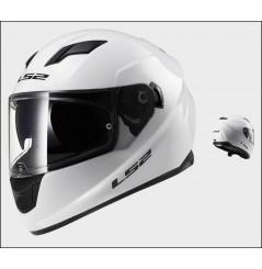 Casque Moto LS2 FF320 STREAM SOLID Blanc