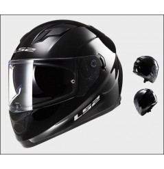Casque Moto LS2 FF320 STREAM SOLID Noir