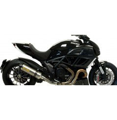 Silencieux ARROW Race-Tech pour Diavel 1200 (11-15)