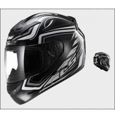 Casque Moto LS2 FF352 ROOKIE RANGER Noir - Blanc