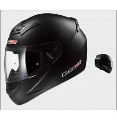 Casque Moto LS2 FF352 ROOKIE SOLID Noir Mat