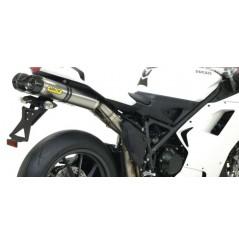 Silencieux ARROW Thunder pour 1198 Ducati (09-12)