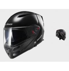 Casque Moto Modulable LS2 FF324 METRO SOLID Noir