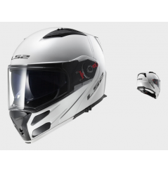 Casque Moto Modulable LS2 FF324 METRO SOLID Blanc