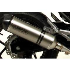 Silencieux ARROW Race-Tech pour NC 700-750 S, X et Intégra (12-15)