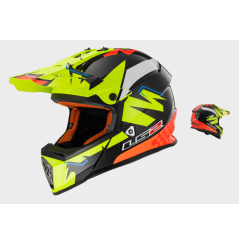 Casque Moto Cross LS2 MX437 FAST REPLICA Isaac Vinales