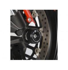 Roulettes de protection de fourche R&G pour Aprilia Dorsoduro et Shiver 750 (07-15)