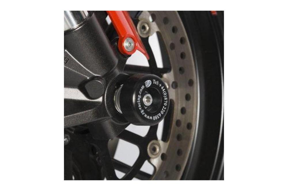 roulettes de protection de fourche r g pour aprilia rst1000 rsv1000 98 09 street moto piece. Black Bedroom Furniture Sets. Home Design Ideas
