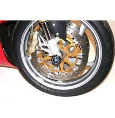 Roulettes de protection de fourche R&G pour Benelli Tronado 900 TRE (00-7)