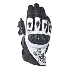 Gants Roadster Moto Ixon Rs Tatoo Vx Hp Noir - Blanc