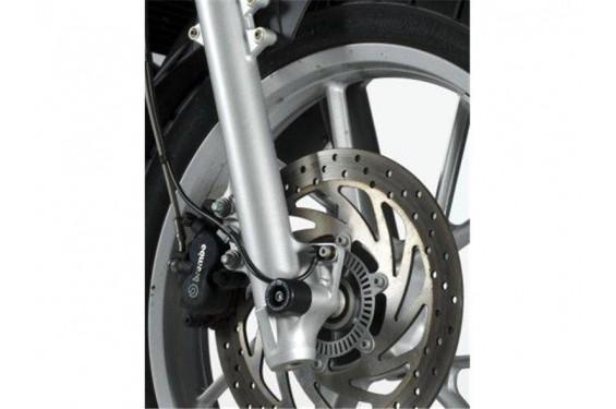 roulettes de protection de fourche r g pour bmw f650gs f700gs 08 16 street moto piece. Black Bedroom Furniture Sets. Home Design Ideas