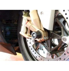 Roulettes de protection de fourche R&G pour BMW S1000R (14-19) S1000RR (09-18)