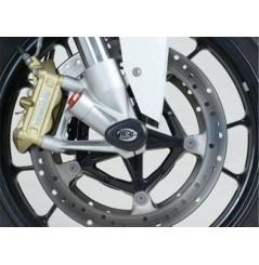 Roulettes de protection de fourche Aero R&G pour BMW S1000RR (09-18)