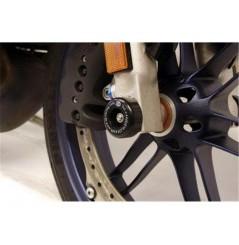 Roulettes de protection de fourche R&G pour Buell 1125R (08-11)
