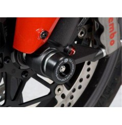 Roulettes de protection de fourche R&G pour 848 - Streetfighter - 1098 - 1098 Streetfighter