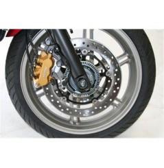 Roulettes de protection de fourche R&G pour Honda CBF600N et S (08-14)