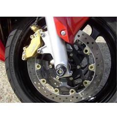 Roulettes de protection de fourche R&G pour CBR600RR - VTR1000 (99-04)