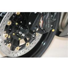 Roulettes de protection de fourche R&G pour Honda CBR600RR (07-16)
