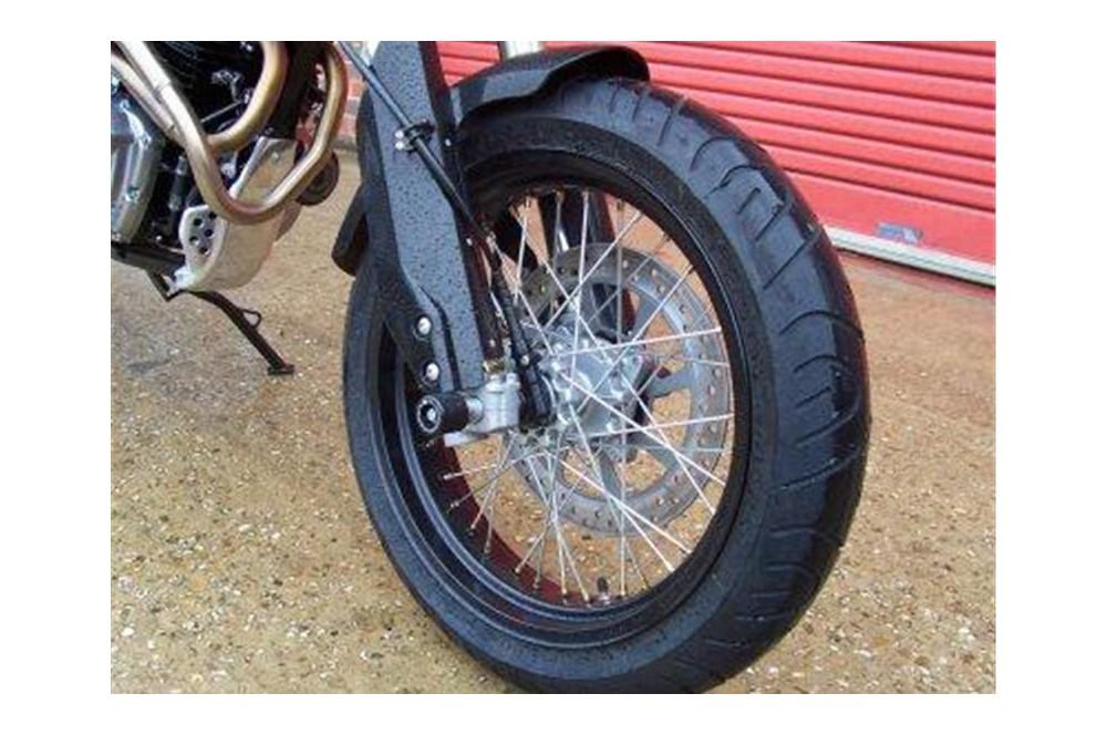 roulettes de protection de fourche r g pour honda fmx650 05 08 street moto piece. Black Bedroom Furniture Sets. Home Design Ideas