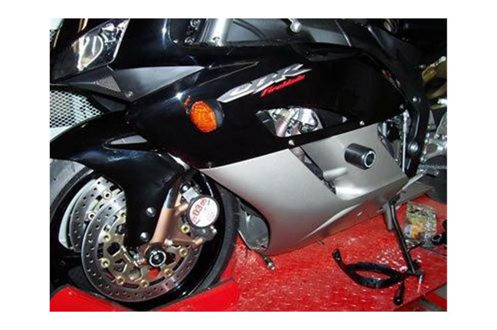 roulettes de protection de fourche r g pour honda cbr900 1000rr 00 07 street moto piece. Black Bedroom Furniture Sets. Home Design Ideas