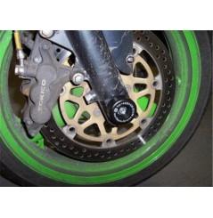Roulettes de protection de fourche R&G pour Kawasaki ZX6R (98-99)