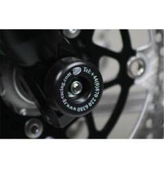 Roulettes de protection de fourche R&G pour Kawasaki Z750 (07-12)