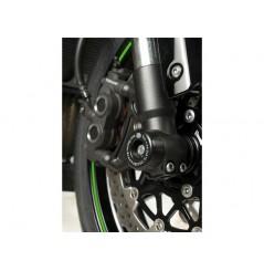 Roulettes de protection de fourche R&G pour Kawasaki ZX10R (08-15)
