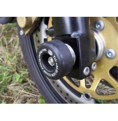 Roulettes de protection de fourche R&G pour Kawasaki ZRX1100 et 1200 (96-06)