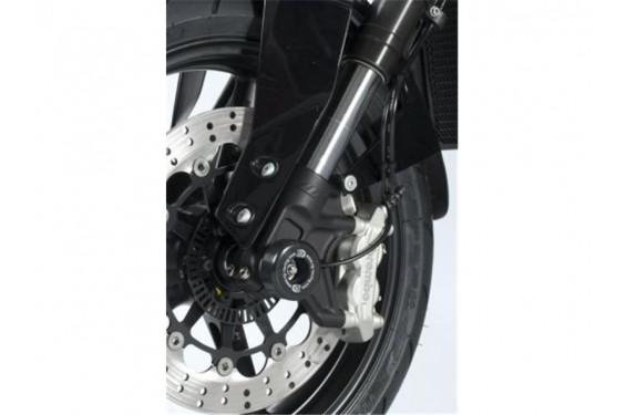 Roulettes de protection de fourche R&G pour KTM 690 Duke et R (12-15)