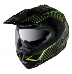Casque Moto Modulable CABERG TOURMAX SONIC Noir - Jaune
