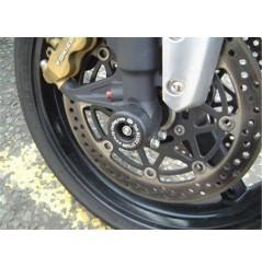 Roulettes de protection de fourche R&G pour GSX-R 1000 - SV1000 - Hayabusa 1300 (02-08)