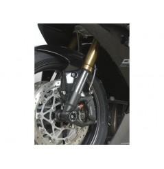 Roulettes de protection de fourche R&G pour 675 Daytona (06-12) Street Triple (07-16)