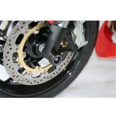 Roulettes de protection de fourche R&G pour SpeedTriple 1050 (05-10) Tiger 1050 et Sport (05-18)