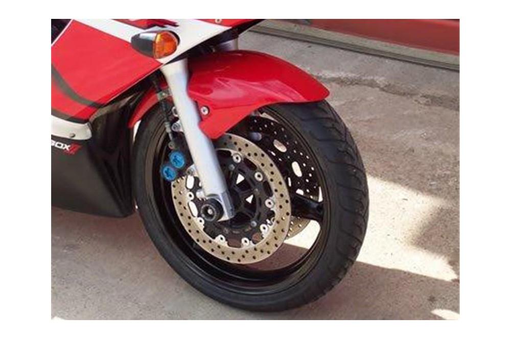 roulettes de protection de fourche r g pour yamaha r6 99 02 street moto piece. Black Bedroom Furniture Sets. Home Design Ideas