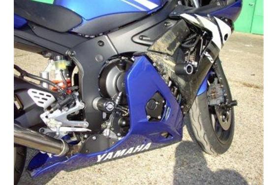 Roulettes de protection de fourche R&G pour Yamaha R6 (03-04)