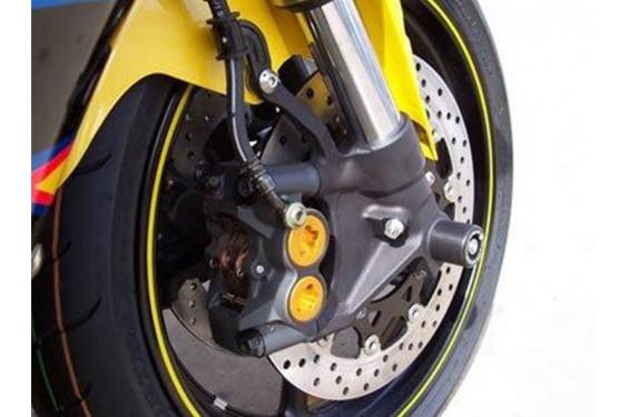 Roulettes de protection de fourche R&G pour Yamaha R6 - R1 (02-15)
