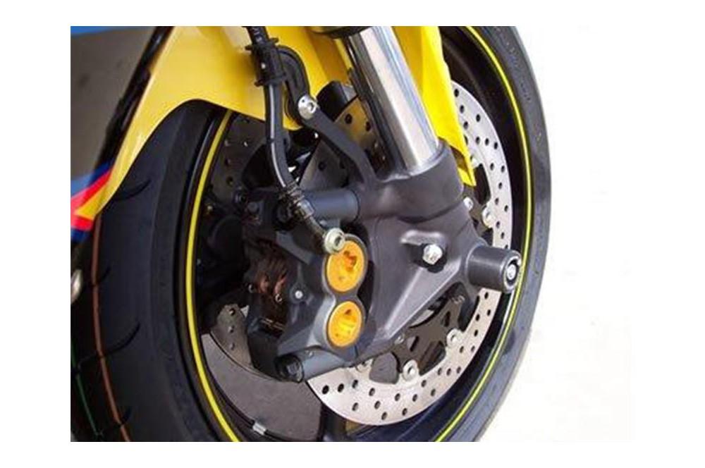 roulettes de protection de fourche r g pour yamaha r6 r1 02 16 street moto piece. Black Bedroom Furniture Sets. Home Design Ideas