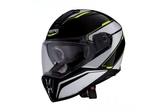Casque Moto CABERG DRIFT TOUR Noir - Blanc - Jaune