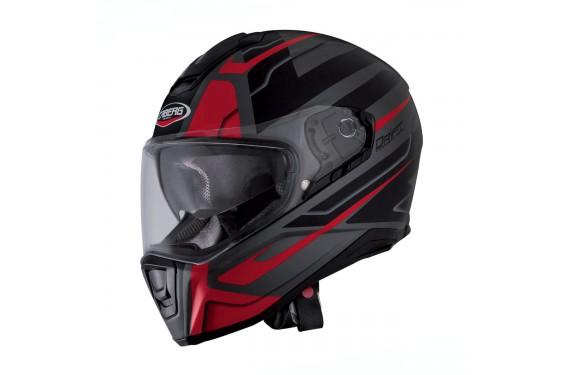 Casque Moto CABERG DRIFT SHADOW Noir - Gris - Rouge