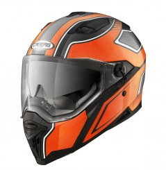 Casque Moto CABERG STUNT BLADE Noir - Orange