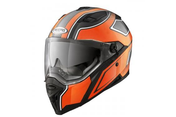 Casque Moto CABERG STUNT BLADE Noir - Orange