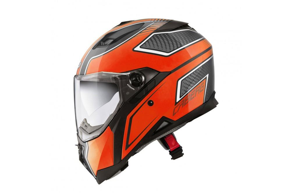 casque moto caberg stunt blade noir orange street moto piece. Black Bedroom Furniture Sets. Home Design Ideas
