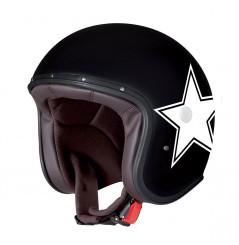 Casque Jet Caberg FREERIDE STAR Noir - Blanc