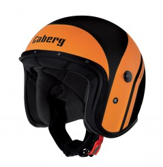 Casque Jet Caberg FREERIDE MISTRAL Noir - Orange
