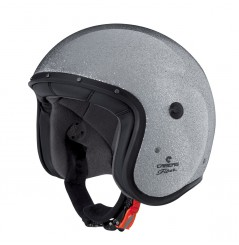 Casque Jet Caberg FREERIDE METAL FLAKE Gris