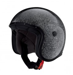 Casque Jet Caberg FREERIDE METAL FLAKE Noir